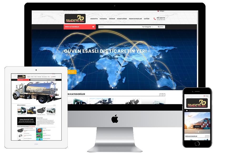 Nourkas Web Portfolio Burak Dölek Website