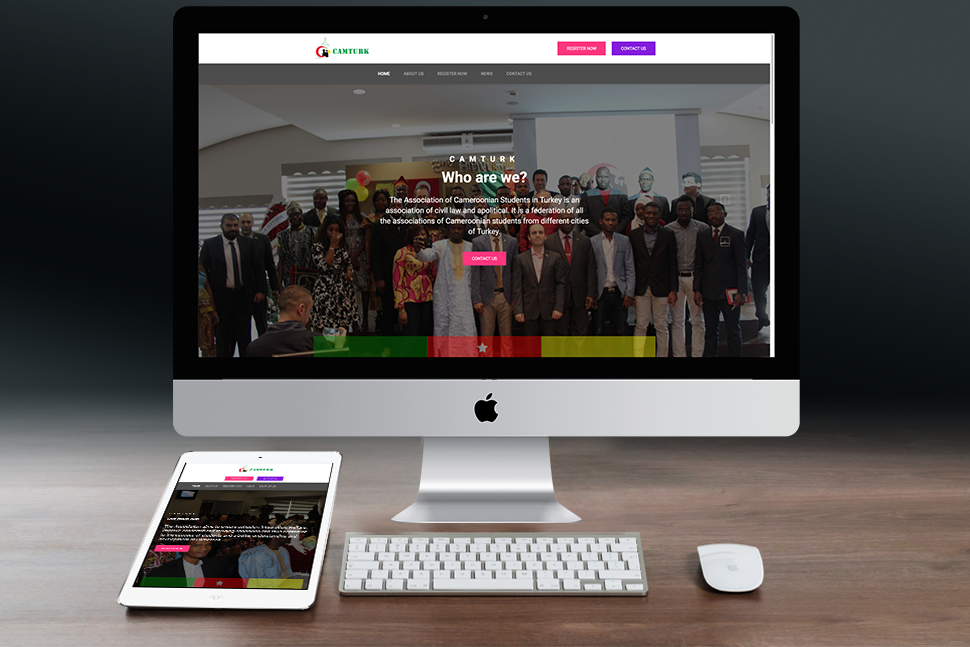 Nourkas Web Portfolio Camturk Website