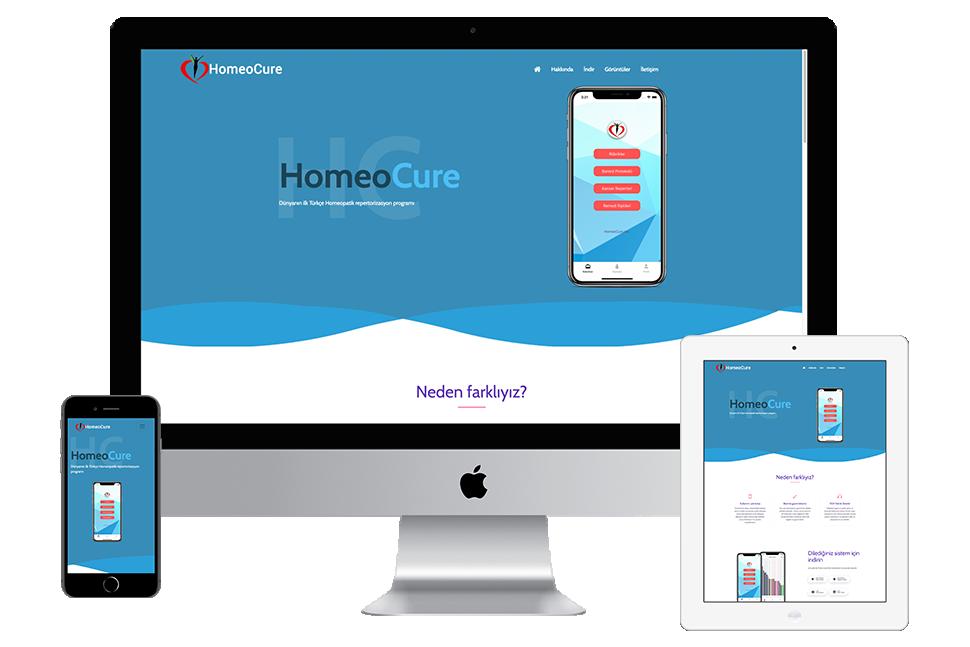 Nourkas Web Portfolio HomeoCure Website