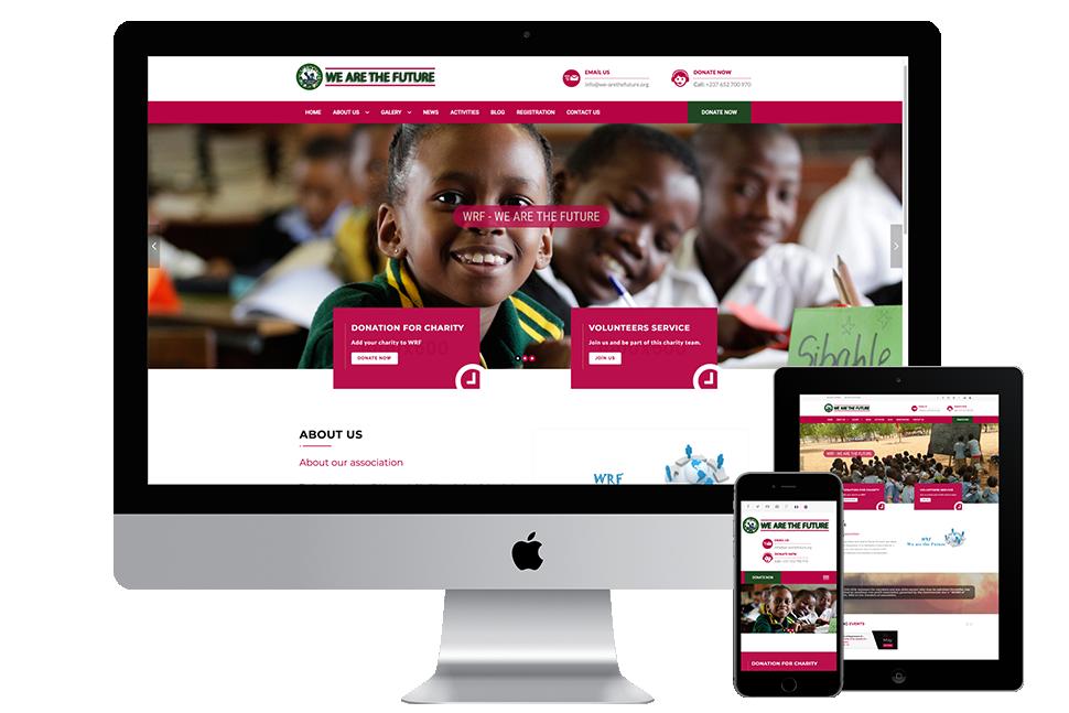 Nourkas Web Portfolio We Are The Future Website