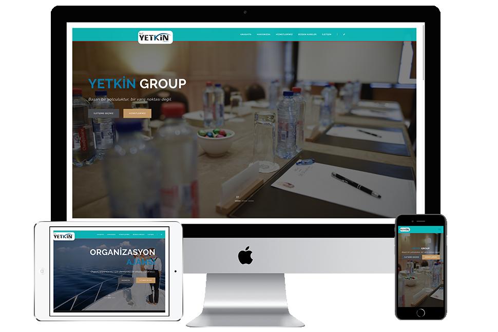 Nourkas Web Portfolio Yetkin Grup Website
